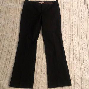 Banana Republic Sloan ladies pants black 4S
